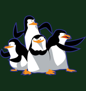 ektarfa.com Men Designs Penguin Fight Mode Men T-shirts & Hoodies