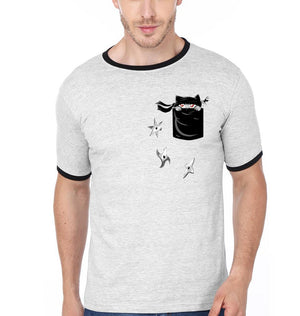 ektarfa.com Men Designs Pocket Ninja Men T-Shirt & Hoodie