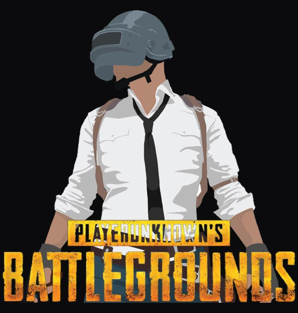 ektarfa.com Men Designs PUBG Player Unknown's Battleground Black Men T shirts & Hoodies