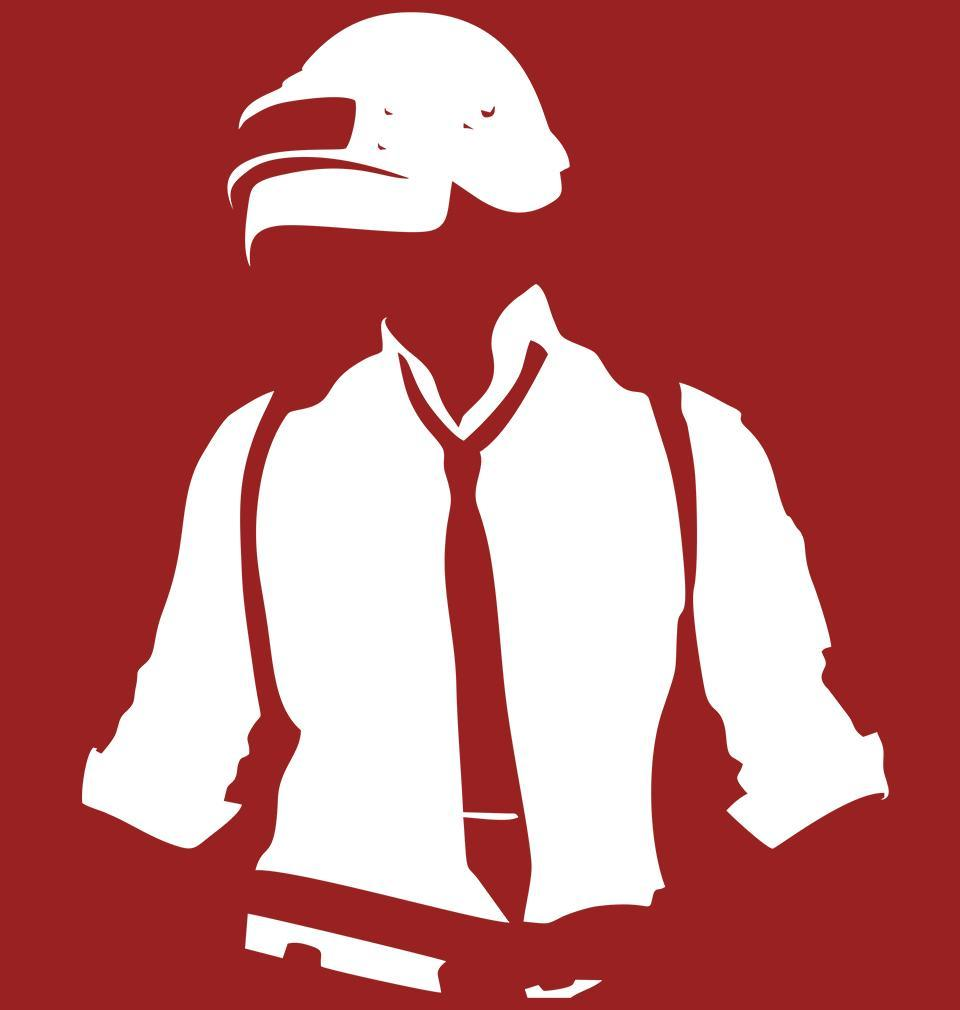 ektarfa.com Men Designs PUBG Red Men Tees & Hoodie
