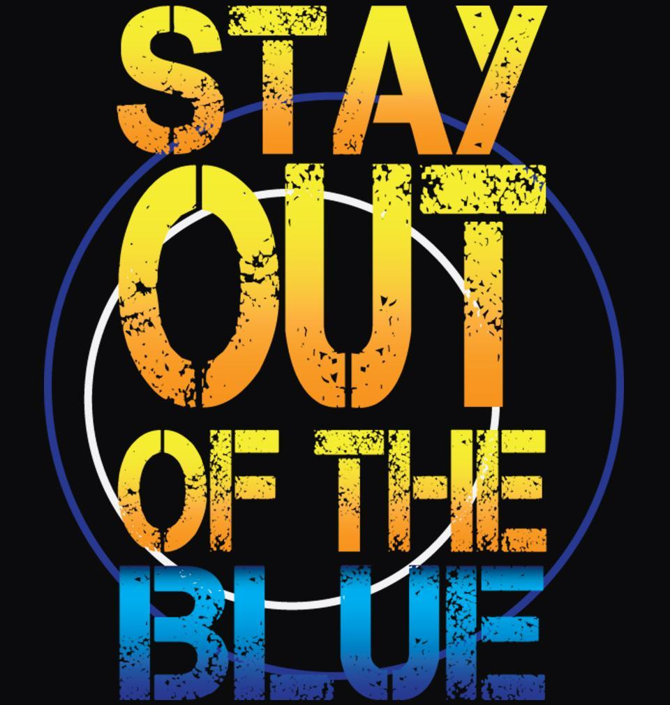 ektarfa.com Men Designs PUBG Stay Out Of The Blue Men Black T shirts And Hoodies