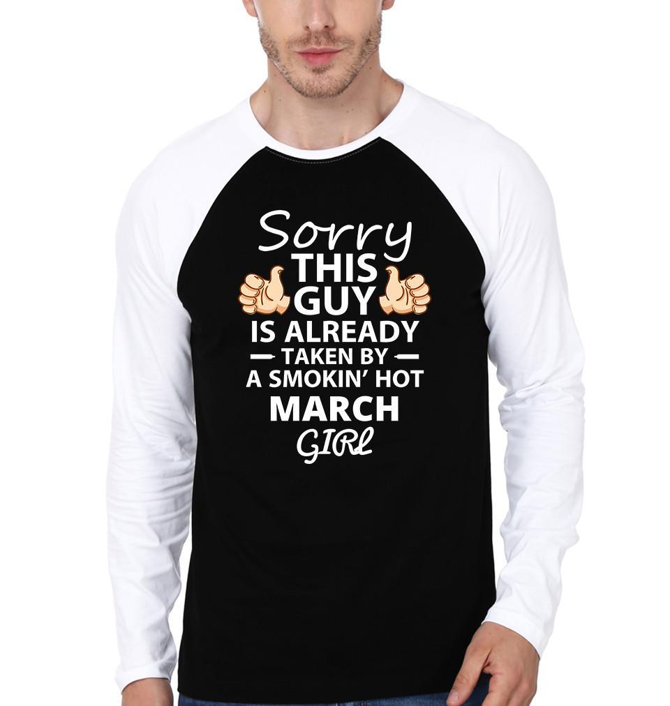ektarfa.com Men Designs Sorry This Guy March Girl birthday Men t shirts and hoodies