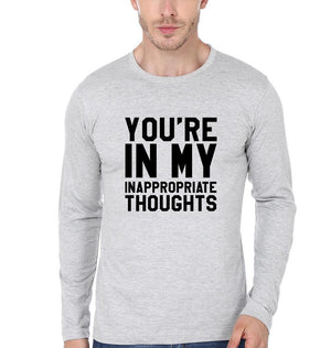 ektarfa.com Men Designs YOU ARE IN MY IN APPROPRIATE THOUGHTS Men T-Shirt & Hoodie