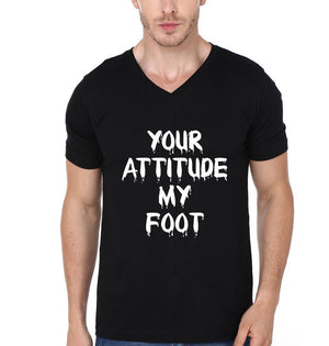 ektarfa.com Men Designs Your Attitude My Foot men T-Shirts & Hoodie