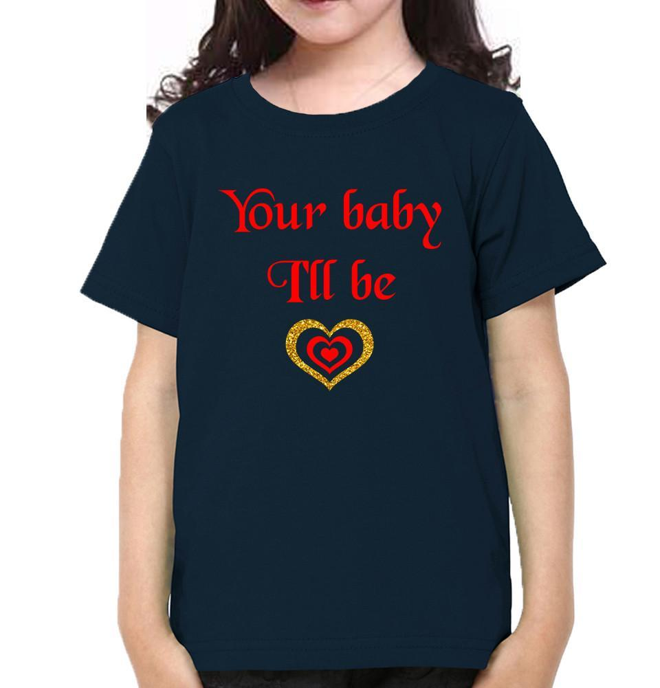 ektarfa.com Mother Daughter T-Shirts As Long As I'M Living & Your Baby I'll Be Mother Daughter T-Shirts