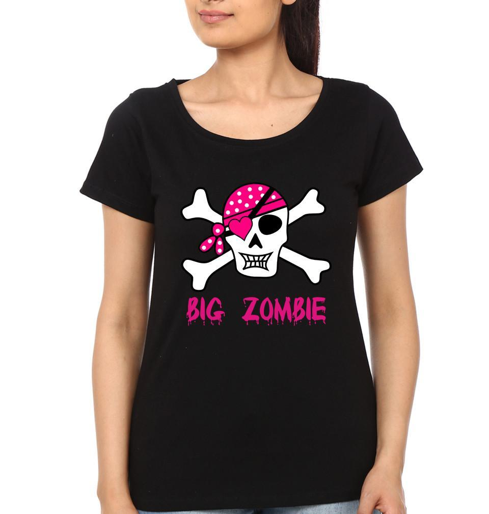ektarfa.com Mother Daughter T-Shirts Big Zombie Lil Zombie Mother Daughter T-Shirts