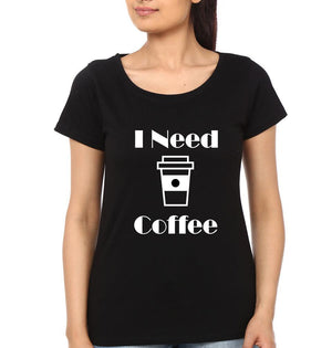 ektarfa.com Mother Daughter T-Shirts I Need Coffee I'M A Latte To Handle Mother Daughter T-Shirts