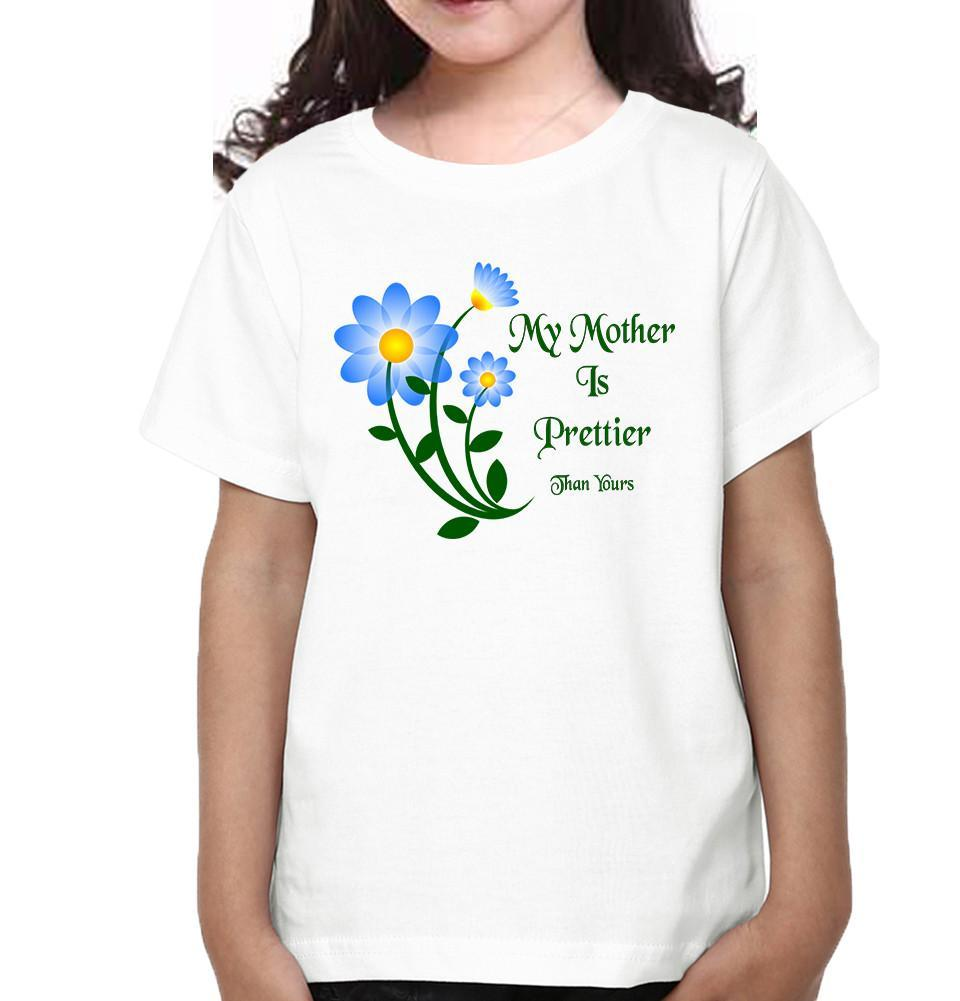 ektarfa.com Mother Daughter T-Shirts My Daughter Is Prettier Than Yours My Mother  Is Prettier Than Yours Mother Daughter T-Shirts