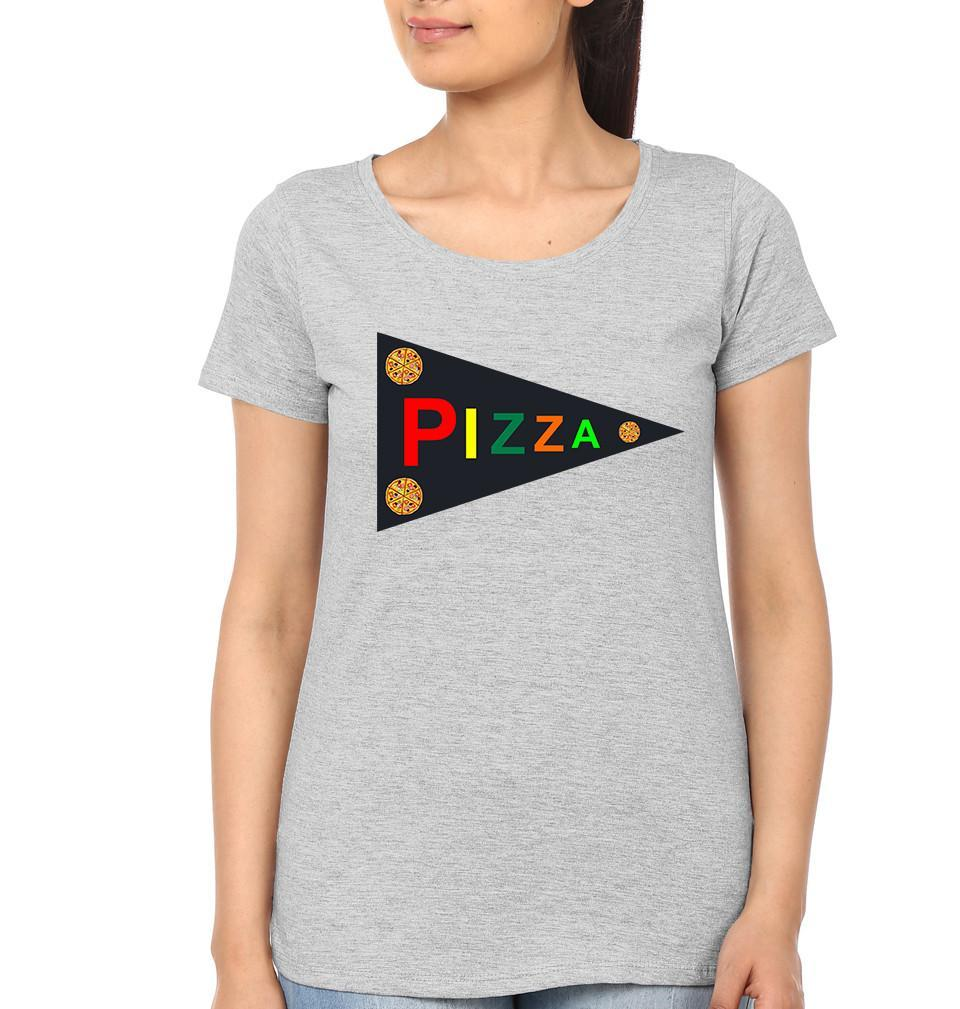 ektarfa.com Mother Daughter T-Shirts Pizza Mother Daughter T-Shirts
