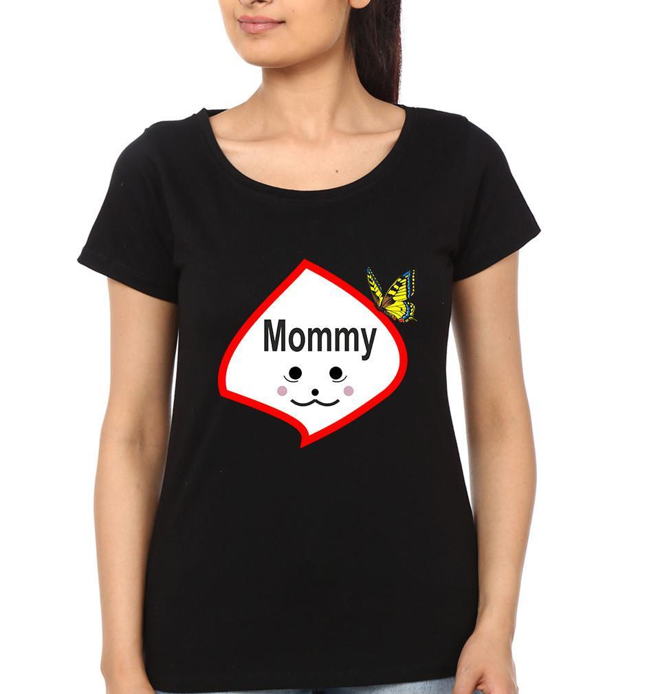 ektarfa.com Mother Daughter T-Shirts Queen Princess Mother Daughter T-Shirts
