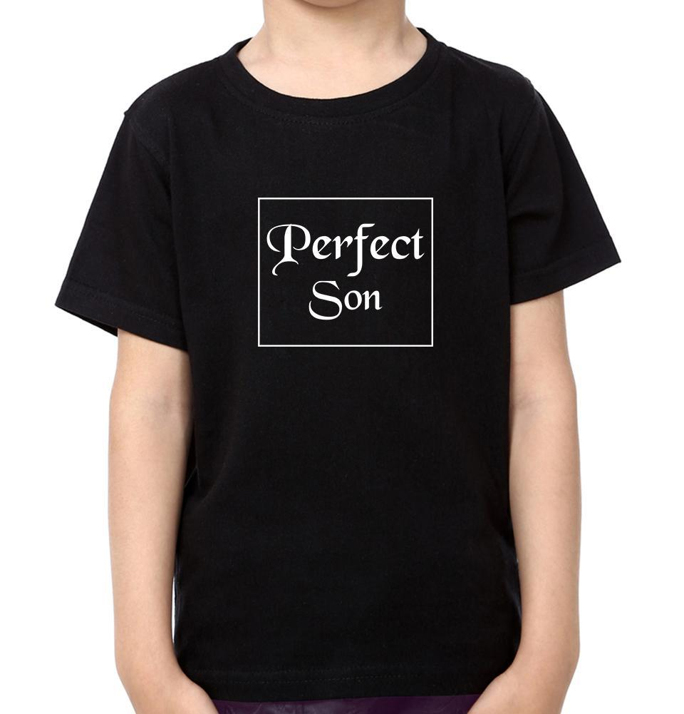ektarfa.com Mother Son T-shirts Perfect Mom Perfect Son T-Shirts