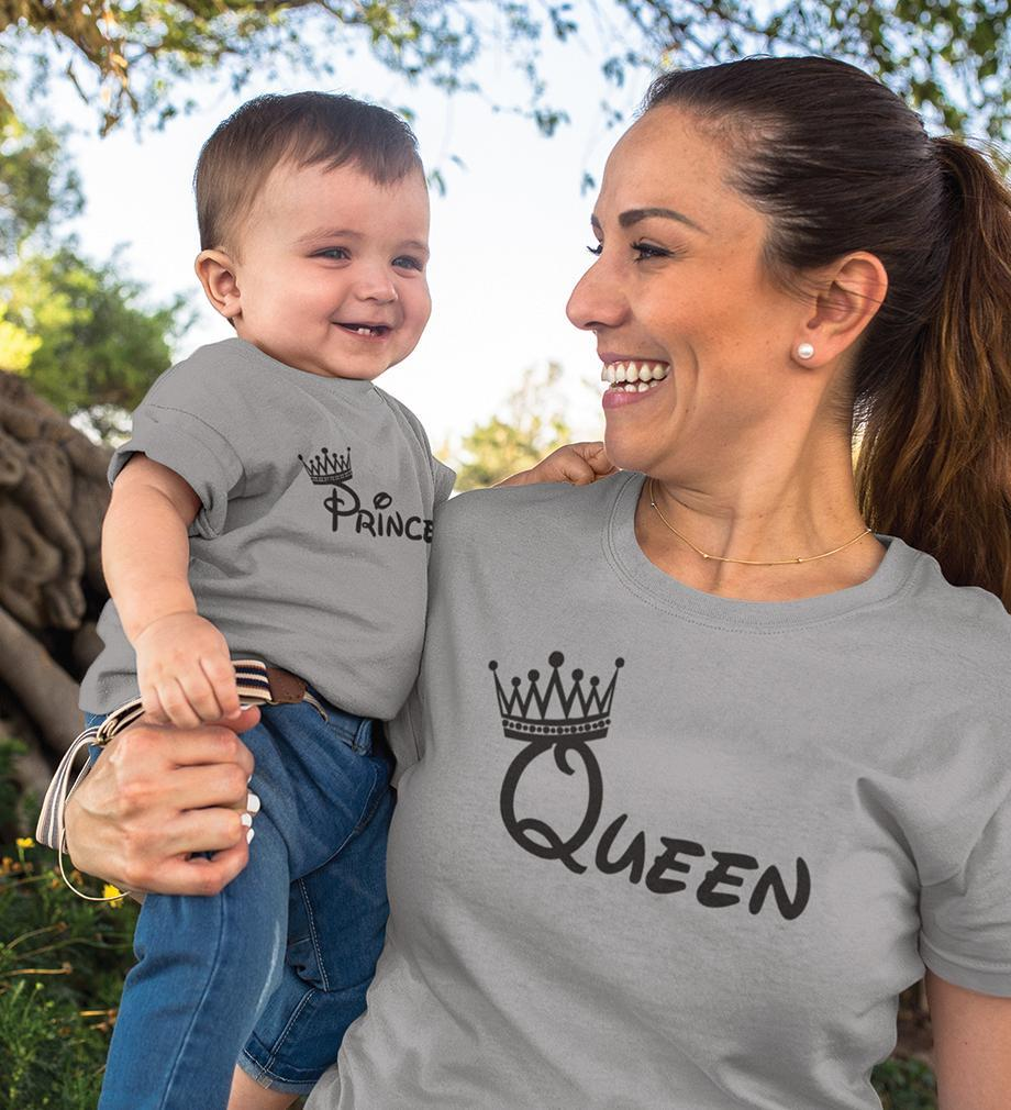 ektarfa.com Mother Son T-shirts Queen Prince T-Shirts