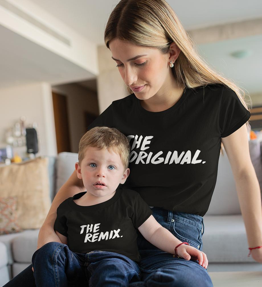 ektarfa.com Mother Son T-shirts The Original The Remix T-Shirts