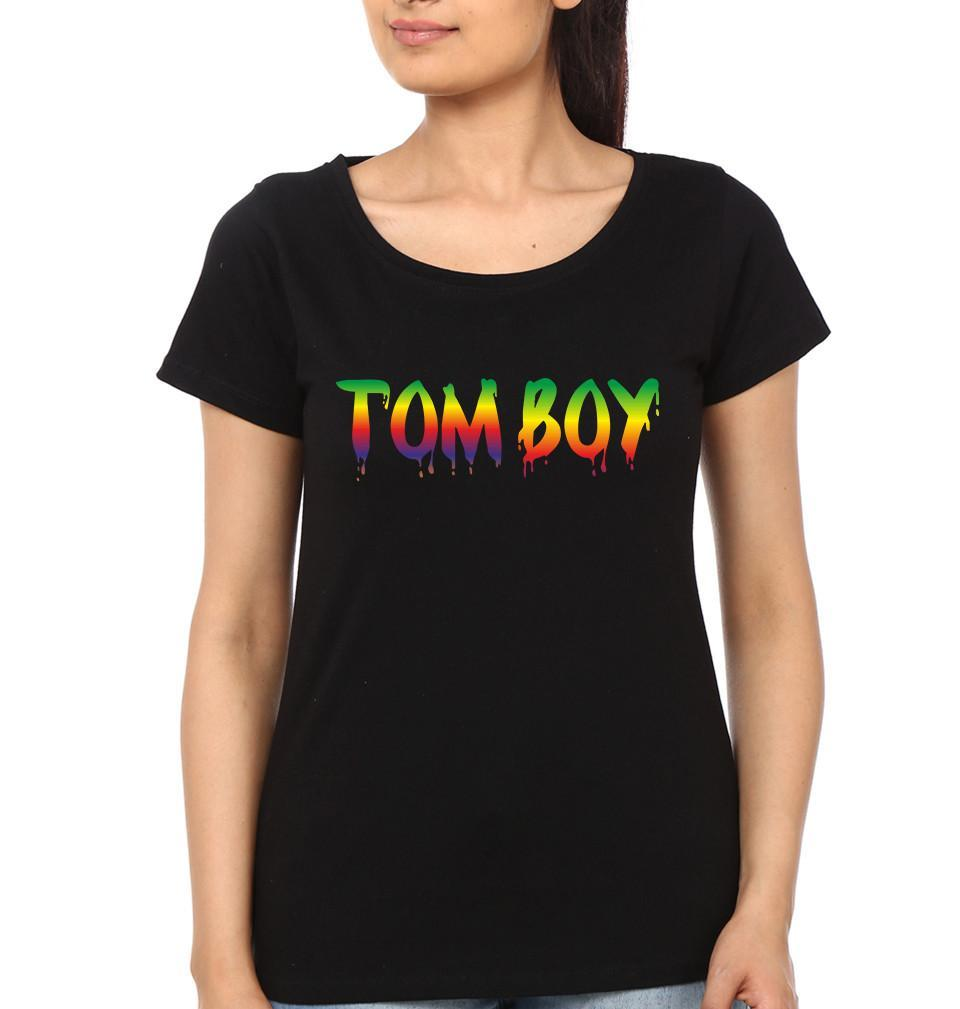 ektarfa.com Mother Son T-shirts Tom Boy Mom Boy T-Shirts