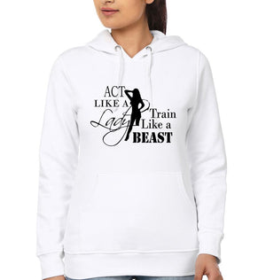 ektarfa.com Women Designs Act Like A Lady  Women T-Shirt & Hoodie