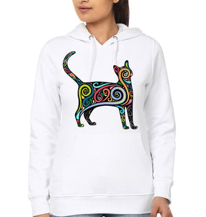 ektarfa.com Women Designs CAT ART  Women T-shirts & Hoodies
