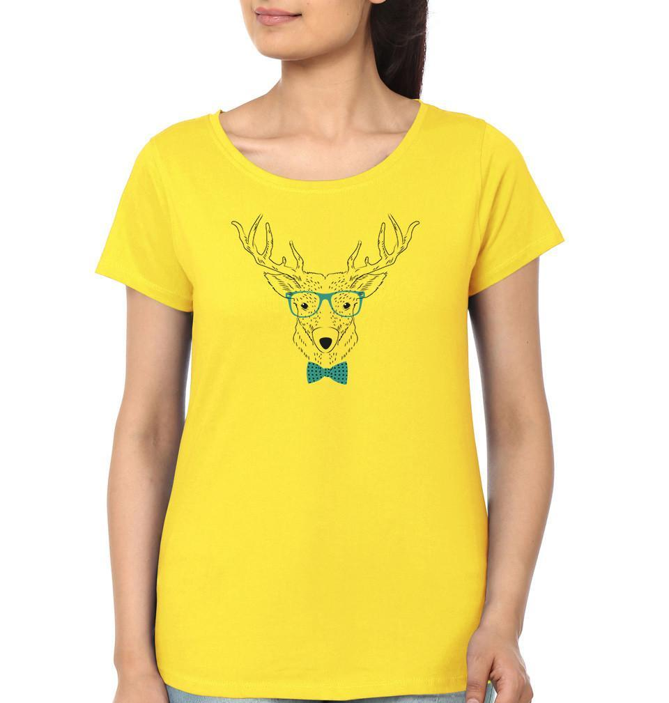 ektarfa.com Women Designs DEER  Women T-shirts & Hoodies