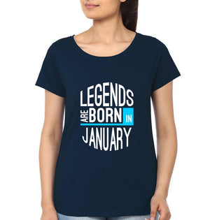 ektarfa.com Women Designs Legend Born January birthday Women t shirts and hoodies