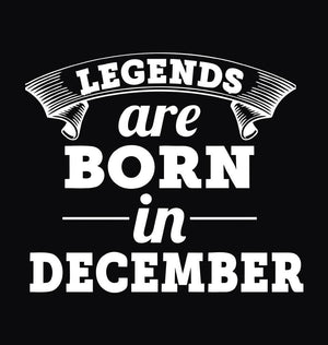 ektarfa.com Women Designs Legends are Born in December birthday Women t shirts and hoodies