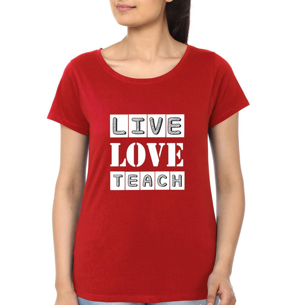 ektarfa.com Women Designs Live Love Teach Women T-Shirt & Hoodie