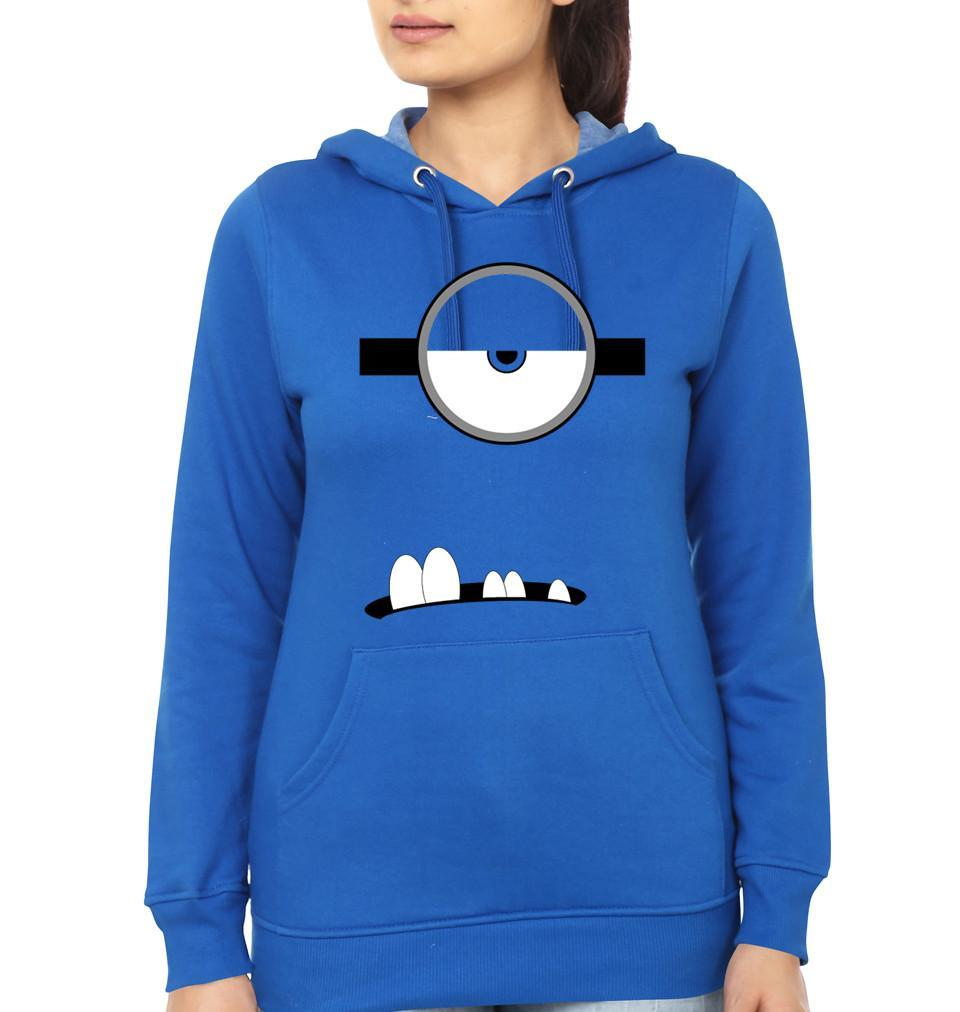 ektarfa.com Women Designs Minion Single Eye & Teeth women T-Shirts & Hoodie