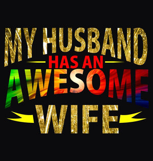 ektarfa.com Women Designs My Husband Awesome Wife Women T-Shirt & Hoodie