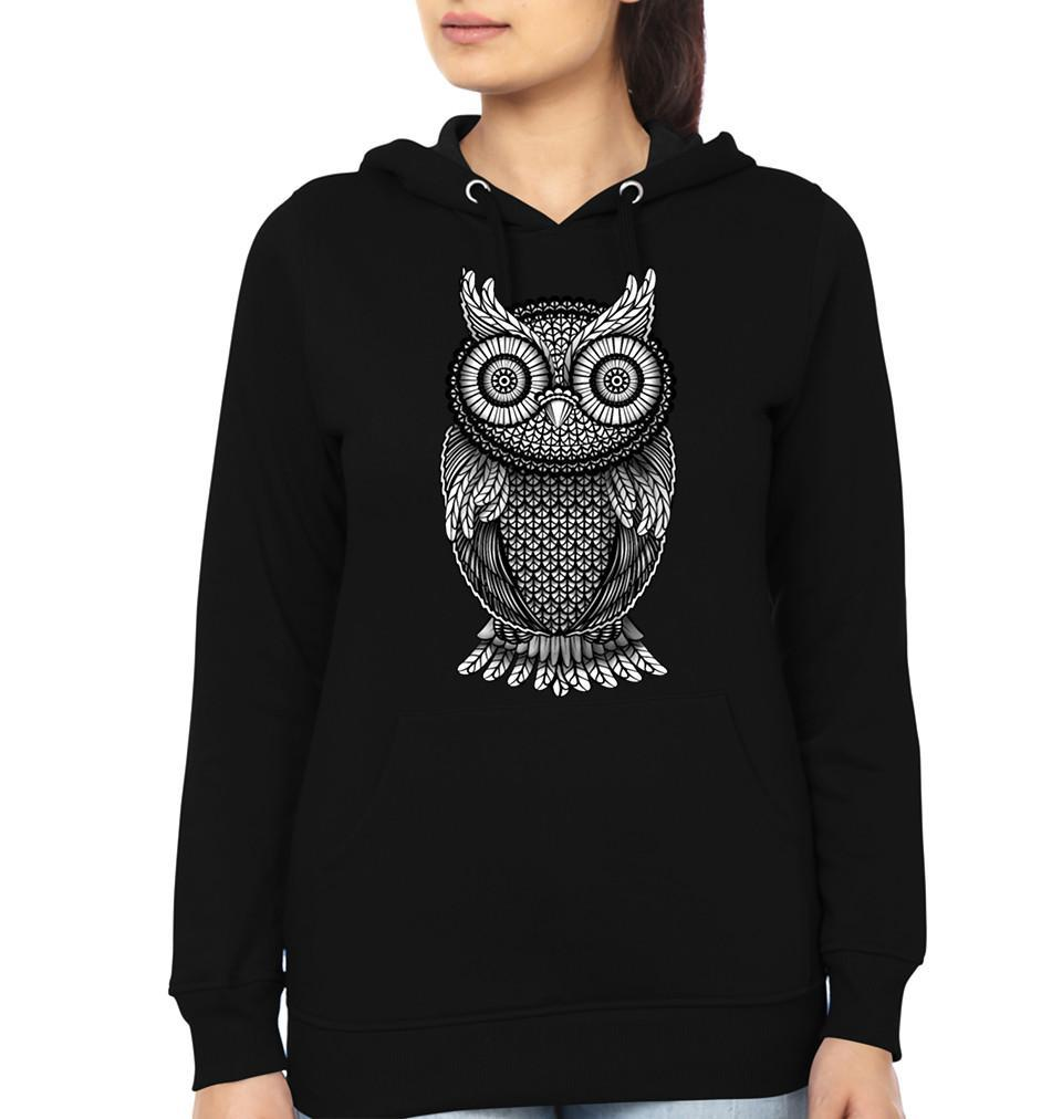 ektarfa.com Women Designs Ornamental Owl Women T shirts & Hoodies
