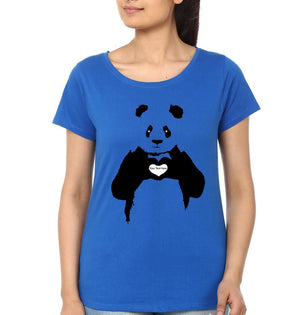 ektarfa.com Women Designs Panda Love women T-Shirts & Hoodie