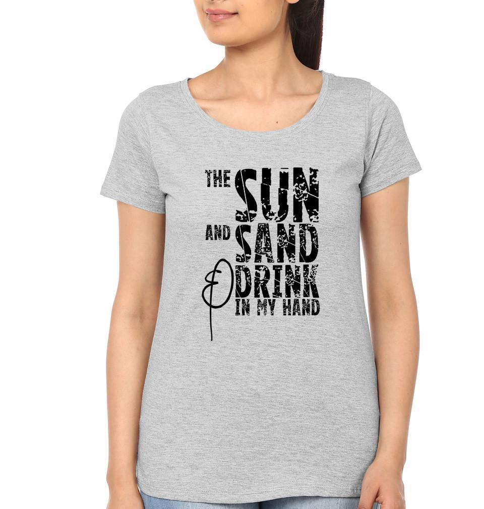 ektarfa.com Women Designs THE SUN AND THE SAND Women T-Shirt & Hoodie