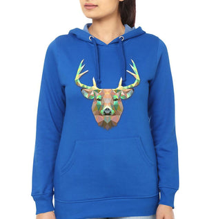 ektarfa.com Women Designs TRIANGLE_DEER Women T-shirts & Hoodies