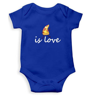 Ektarfa Garments Boys Rompers Pizza Is Love Romper For Baby Boy