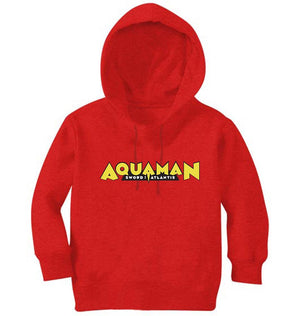 Ektarfa Garments Girls Hoodies Aqua Man Hoodie for Girl
