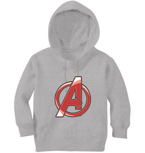 Ektarfa Garments Girls Hoodies Avenger Logo Hoodie for Girl