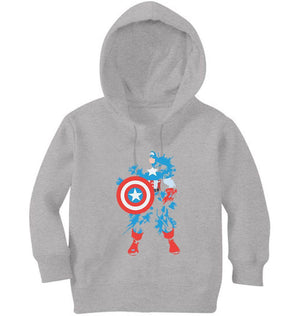 Ektarfa Garments Girls Hoodies Captain Splash Hoodie for Girl