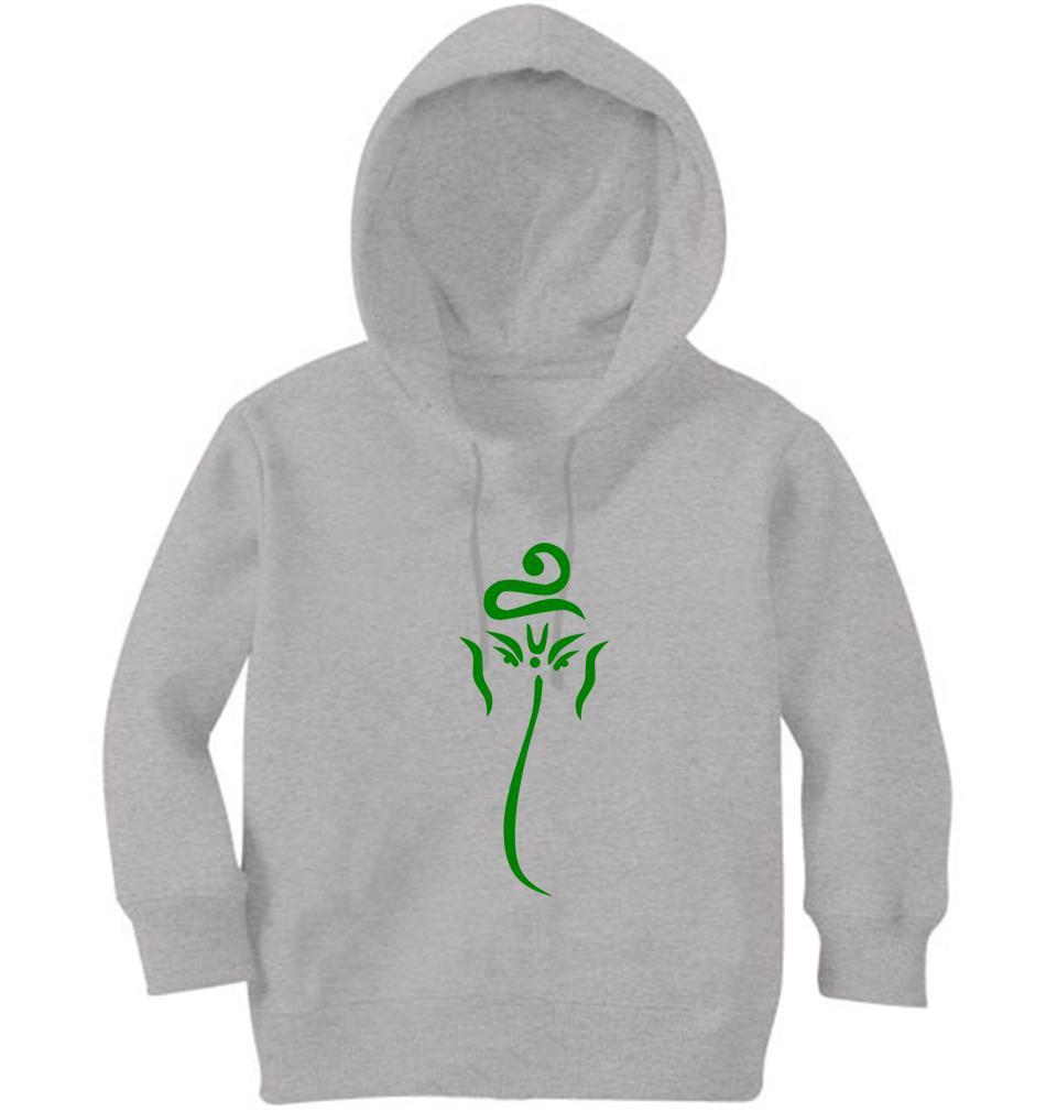 Ektarfa Garments Girls Hoodies Ganesh  JI Hoodie for Girl