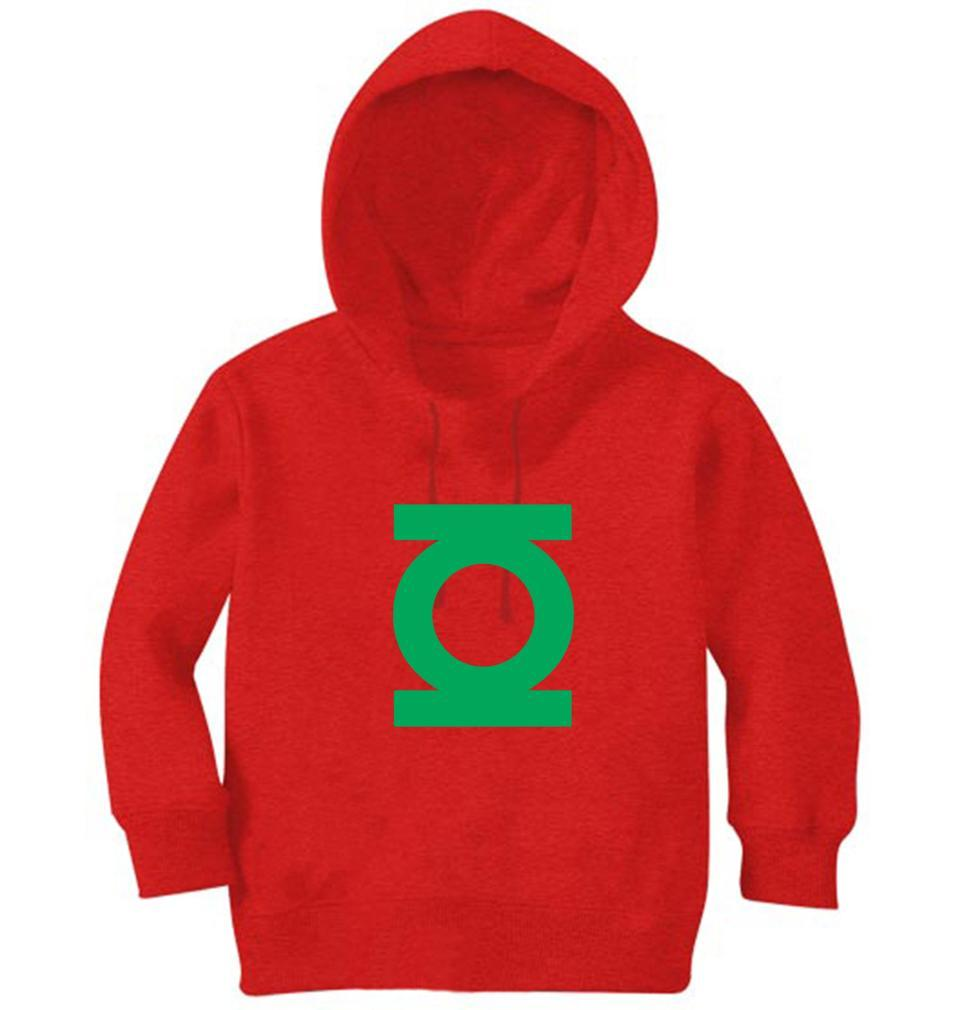 Ektarfa Garments Girls Hoodies Green Lantern Hoodie for Girl