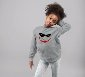 Ektarfa Garments Girls Hoodies Joker Face Hoodie for Girl