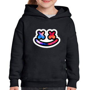 Ektarfa Garments Girls Hoodies Marshmello Hoodie for Girl