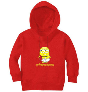 Ektarfa Garments Girls Hoodies Minion Subhraminion Hoodie for Girl
