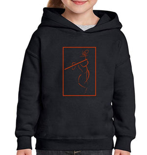 Ektarfa Garments Girls Hoodies Shree Krishna Hoodie for Girl
