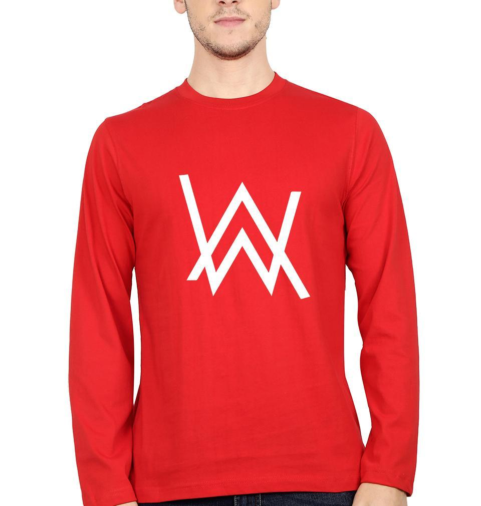 Ektarfa Garments Men Full Sleeves T-Shirts Alan Walker Full Sleeves T-Shirt for Men