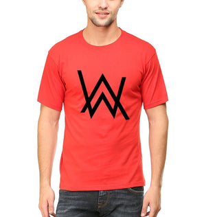 Ektarfa Garments Men Half Sleeves T-Shirts Alan Walker T-Shirt for Men