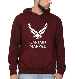 Ektarfa Garments Men Hoodies Captain Marvel Superhero Hoodie for Men