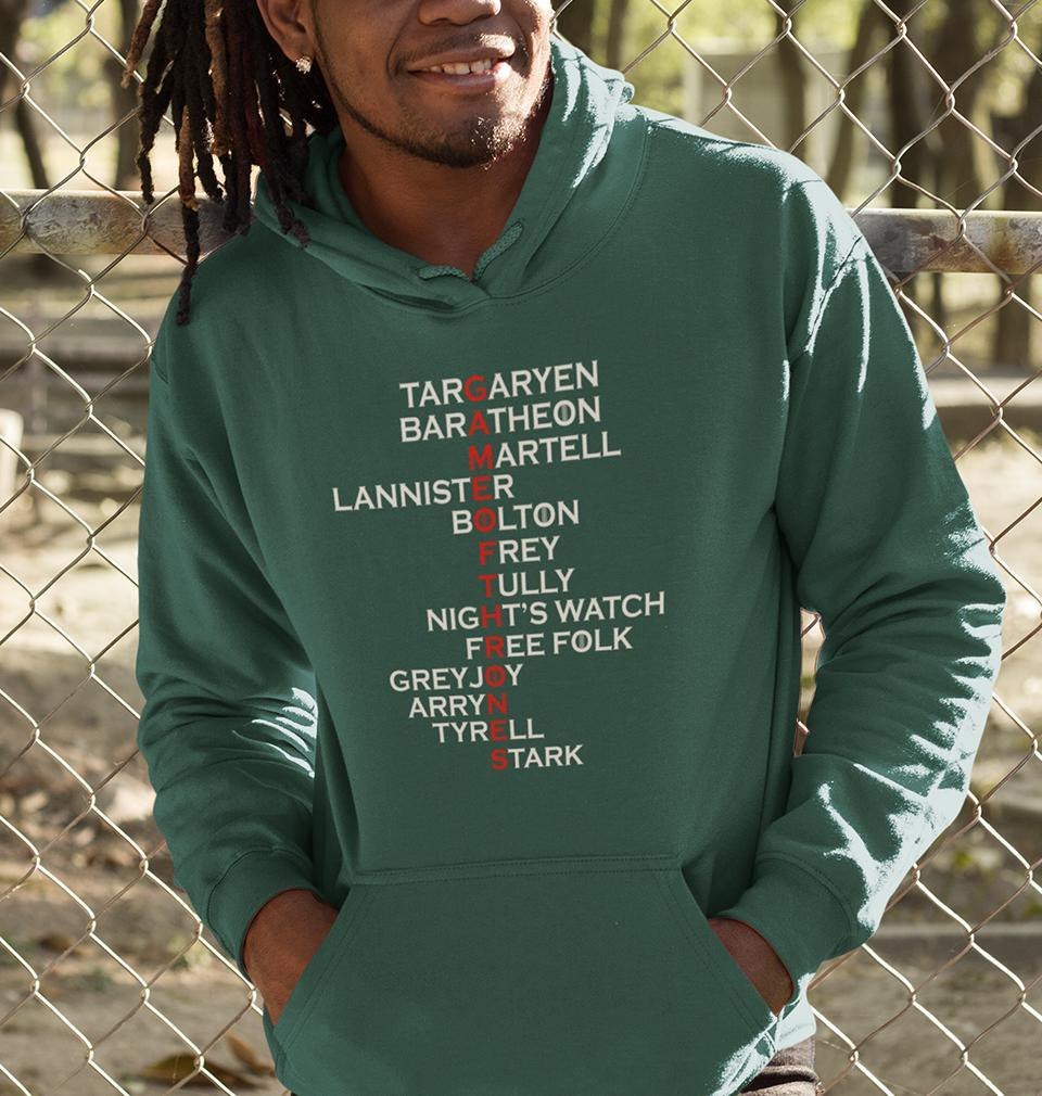 Ektarfa Garments Men Hoodies GOT Game Of Thrones Hoodie for Men