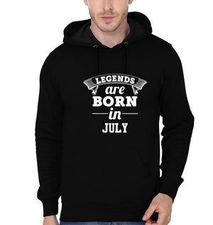Ektarfa Garments Men Hoodies Legends Are Born In July Hoodie for Men