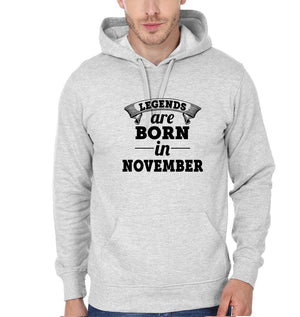 Ektarfa Garments Men Hoodies Legends Are Born In November Hoodie for Men