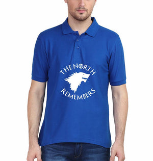 Ektarfa Garments Men Polo T-Shirts GOT Game Of Thrones North Remembers Polo T-Shirt for Men