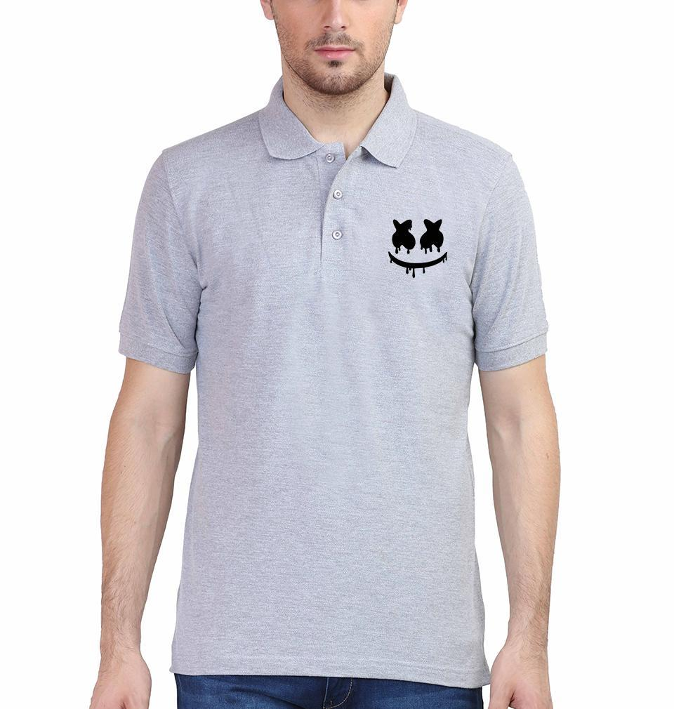 Ektarfa Garments Men Polo T-Shirts Marshmello Polo T-Shirt for Men