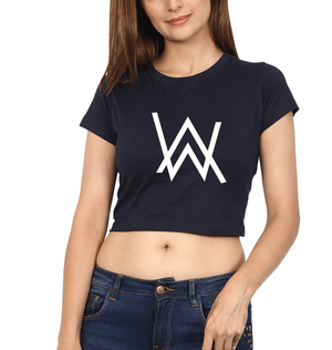 Ektarfa Garments Women Crop Top Alan Walker Crop Top for Women