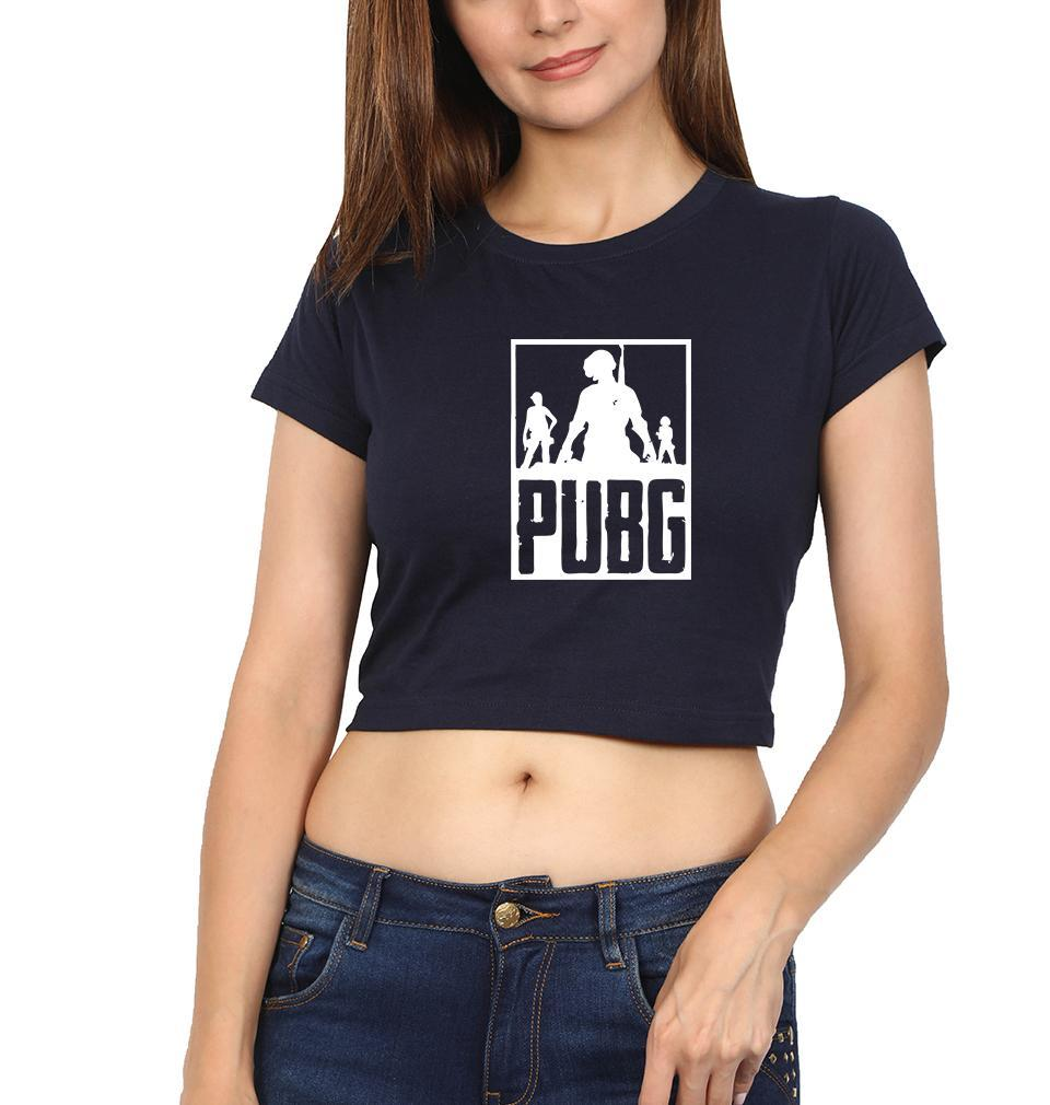 Ektarfa Garments Women Crop Top PUBG Crop Top for Women
